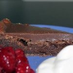 Kladdkaka med chokladkolakräm