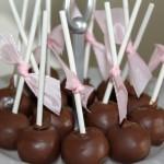 Cakepops - Ballerina kladdkaka