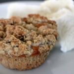 Rabarbermuffins med crunch