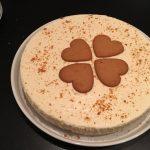 Fryst pepparkakscheesecake med pepparkakssmul