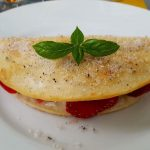 Strawberry Cheesecake Quesadillas